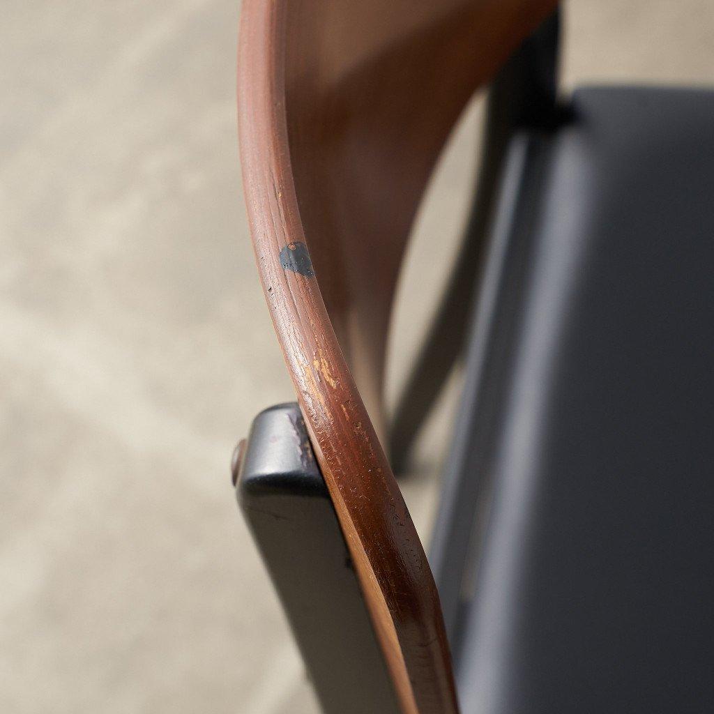 #39791 英国ヴィンテージ ダイニングチェア 4脚セット 座面張替え済み コンディション画像 - 39