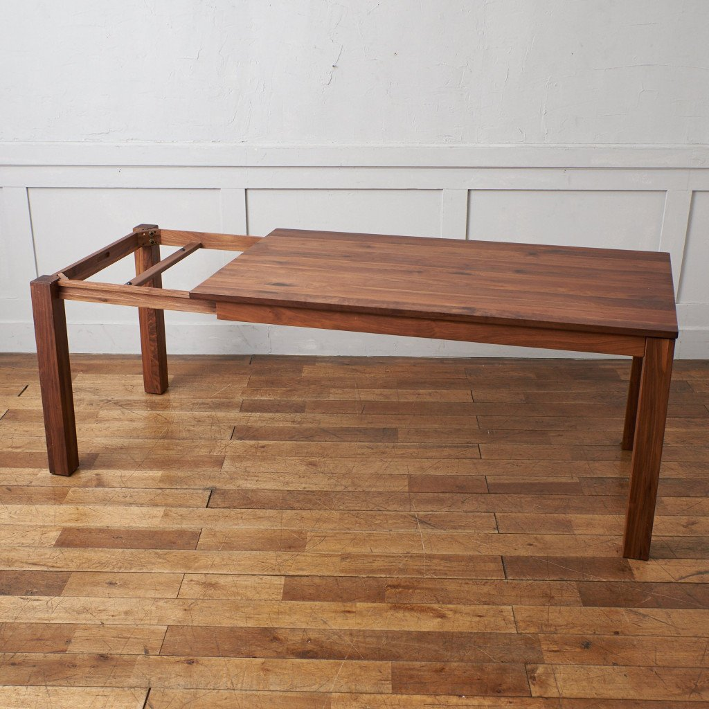 リビングハウス LIVING HOUSE SE 伸長式無垢材ダイニングテーブル