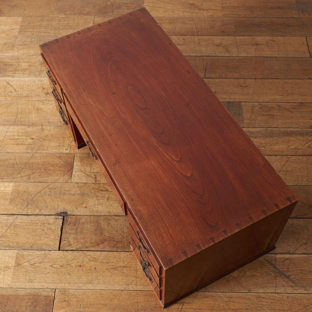 欅材 文机