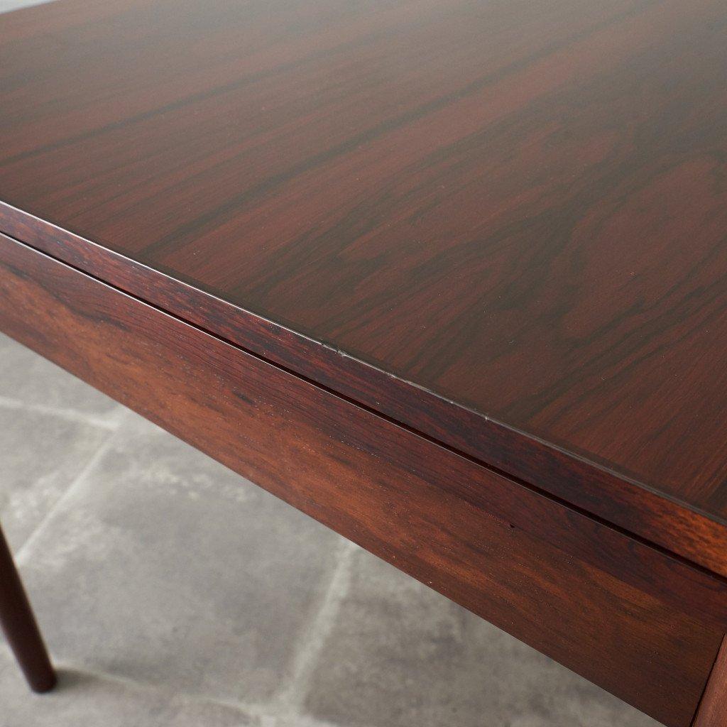#42783 北欧ヴィンテージ ローズウッド材 ドローリーフテーブル コンディション画像 - 8