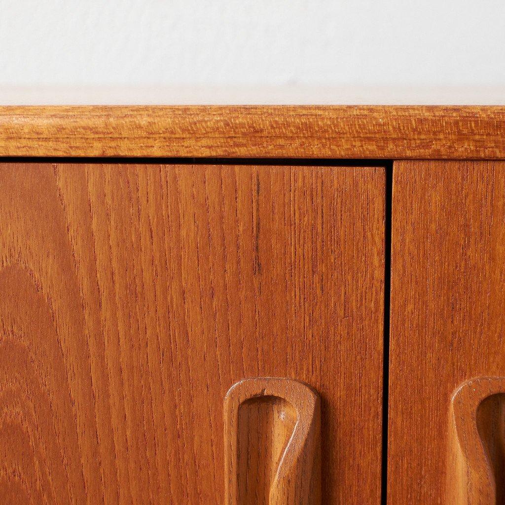 #43265 Fresco カスタム アイアンヘアピンレッグ サイドキャビネット コンディション画像 - 16