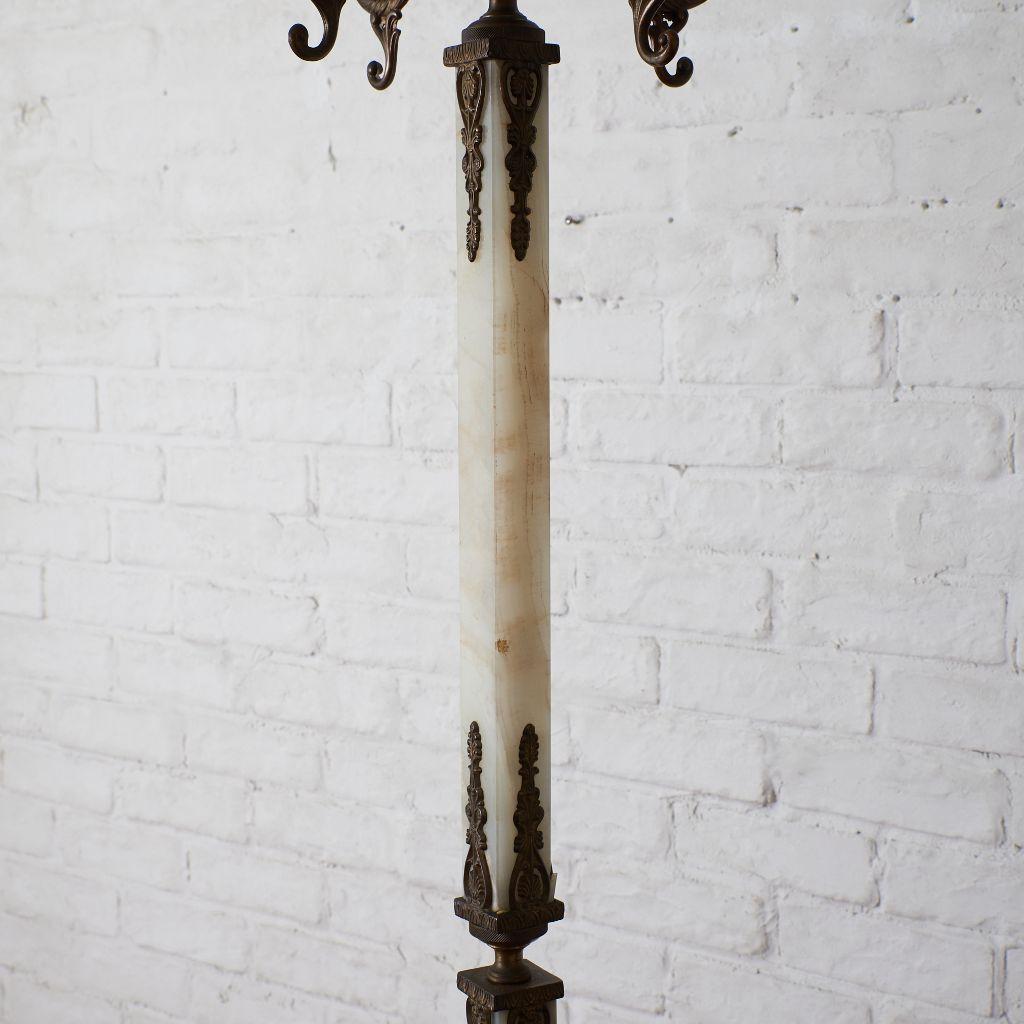 #41779 イタリア製 大理石x真鍮 ポールハンガー コンディション画像 - 13