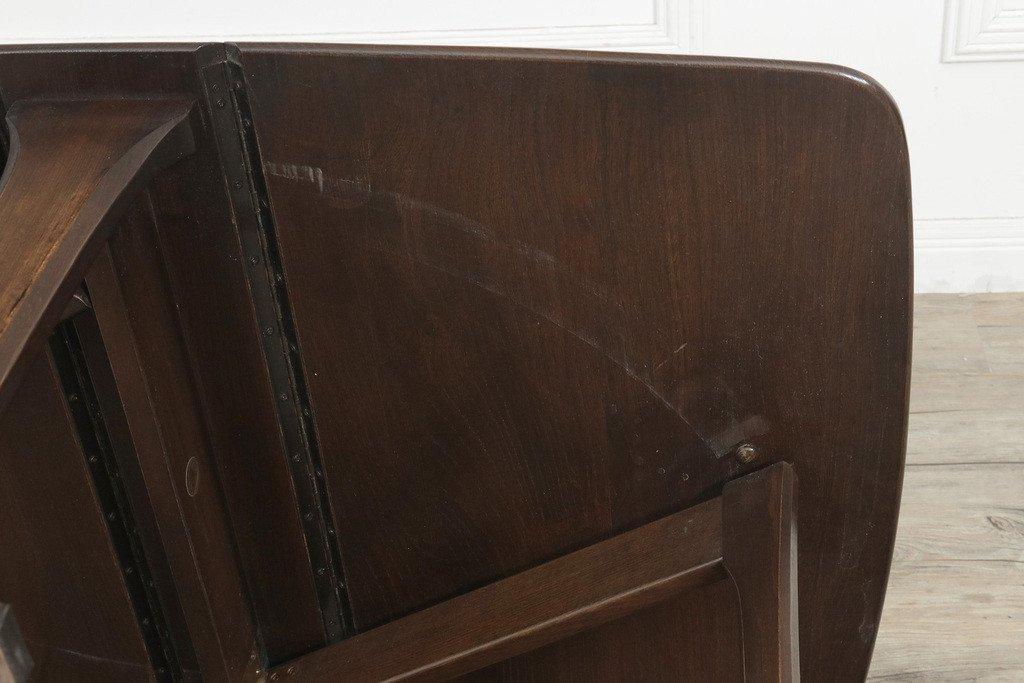 #34244 ゲートレッグ バタフライローテーブル コンディション画像 - 21