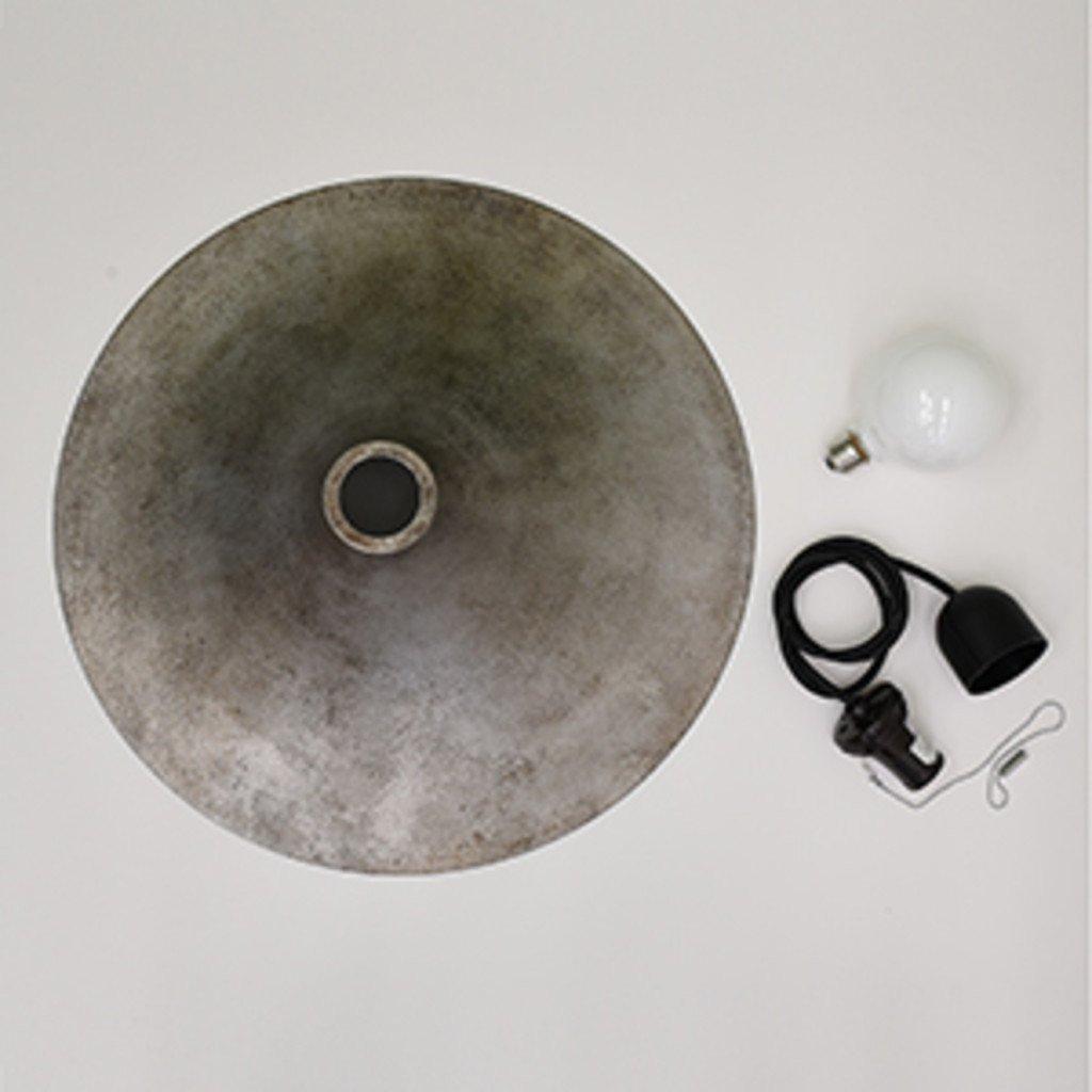 rocca Rona ペンダントランプ / M 鋳鉄風 シルバー