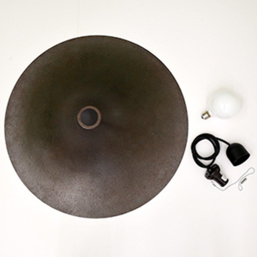 #33821 Rona ペンダントランプ / L 鋳鉄風 ブラック コンディション画像 - 9
