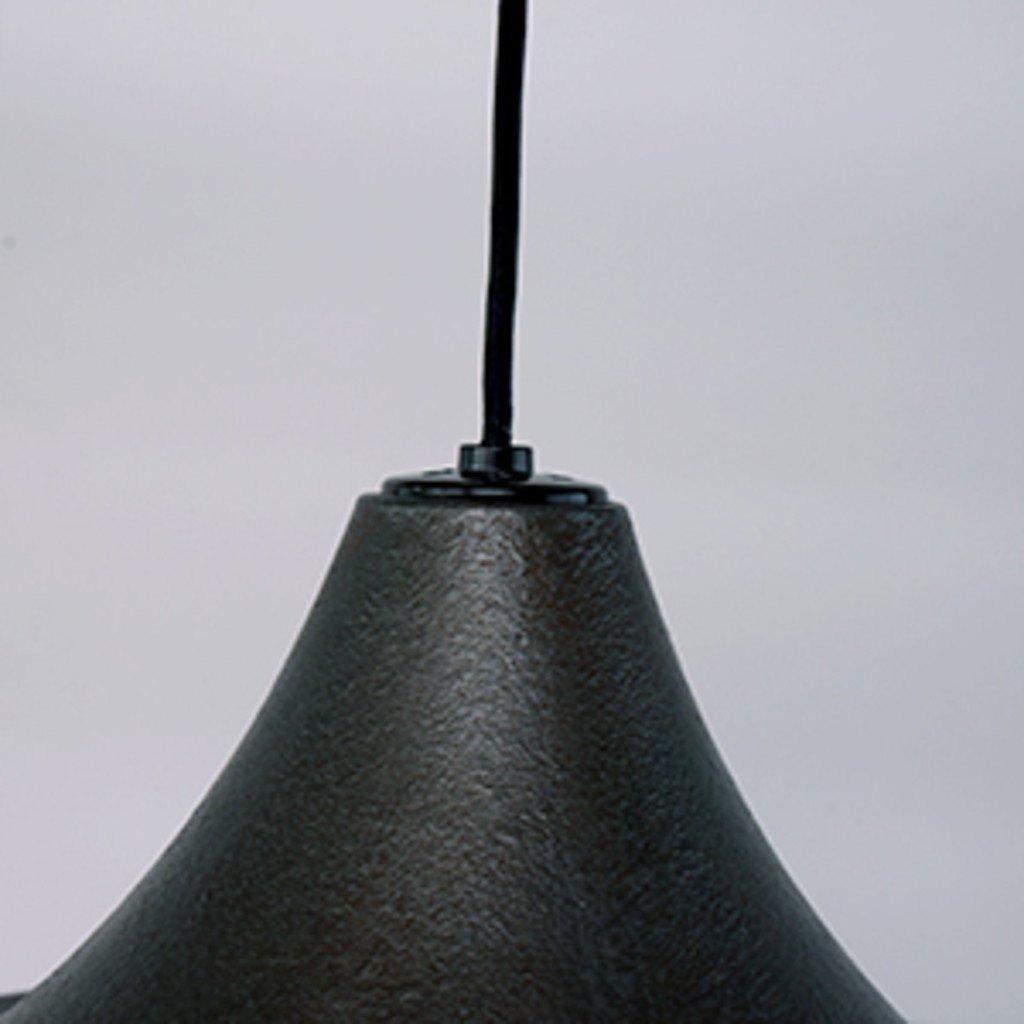 #33821 Rona ペンダントランプ / L 鋳鉄風 ブラック コンディション画像 - 12