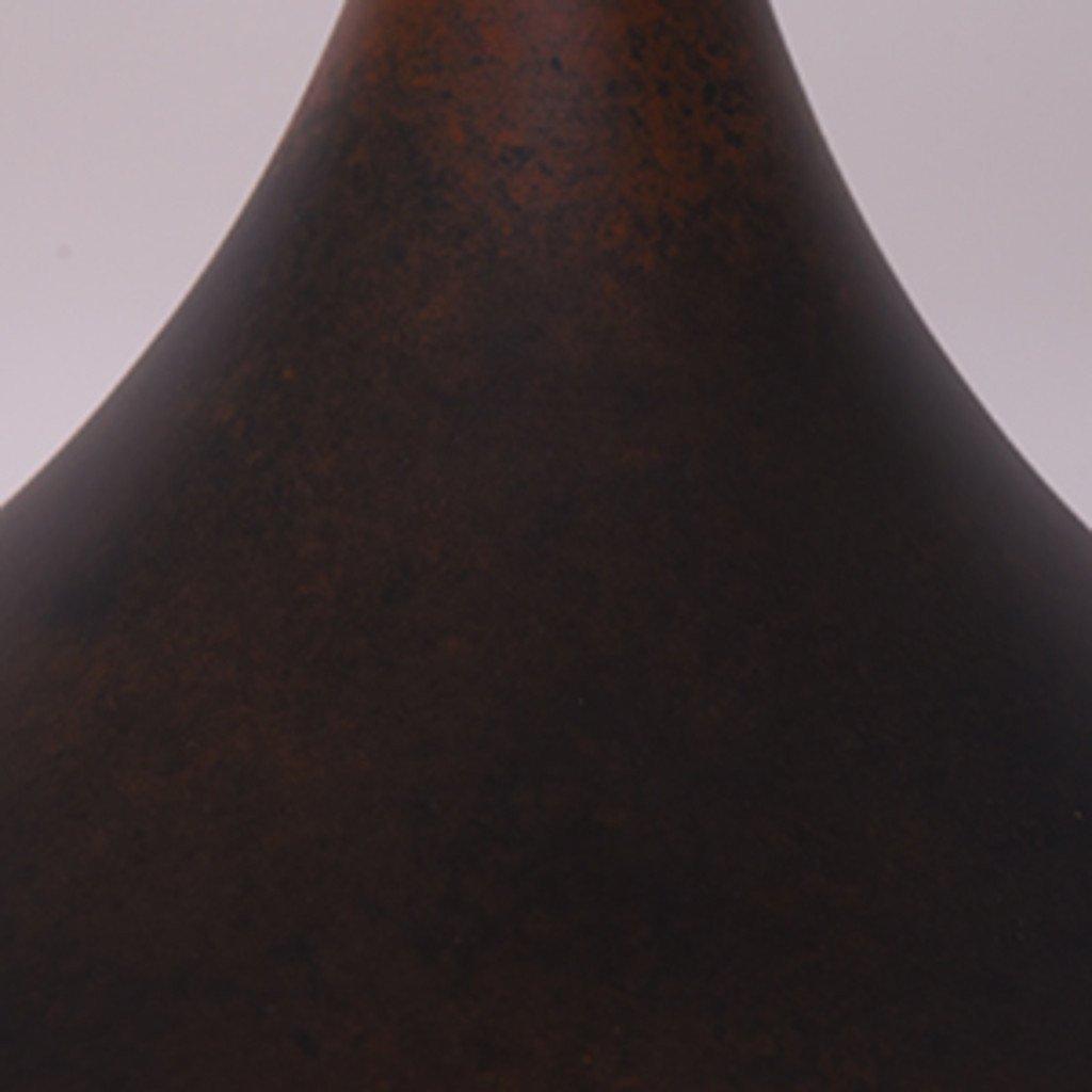 #34938 Rona ペンダントランプ / M サビ加工 ブラック コンディション画像 - 13