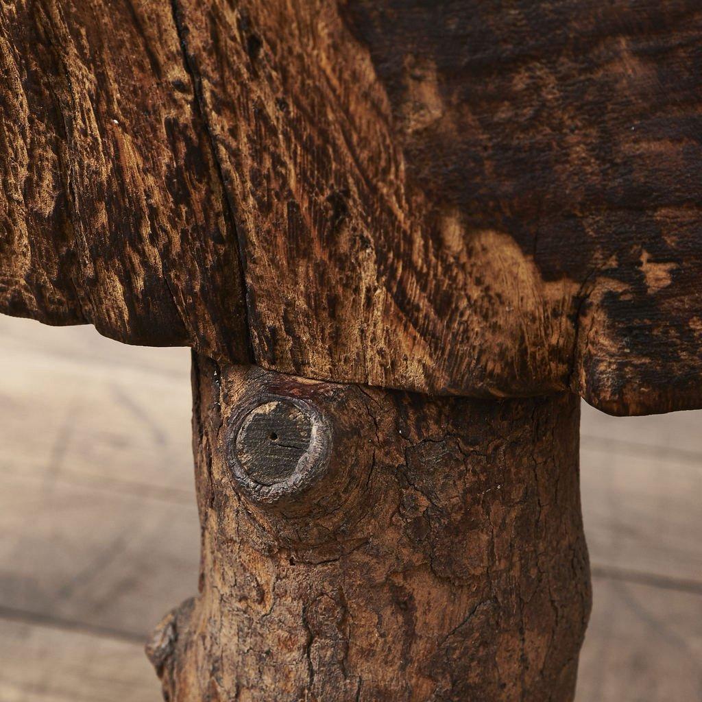 #34894 欅一枚板座卓 コンディション画像 - 10