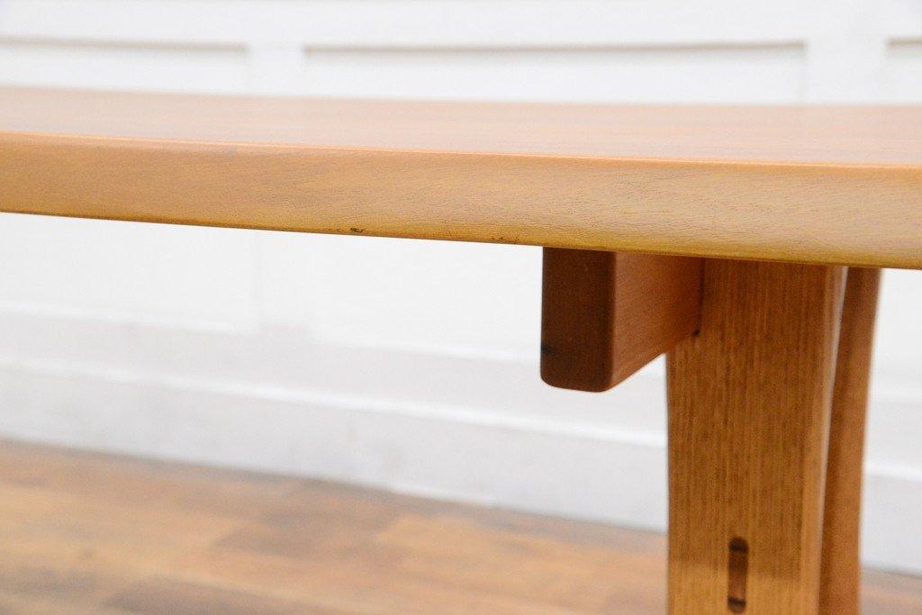 #33639 無垢材 クルミ x オークダイニングテーブル コンディション画像 - 11
