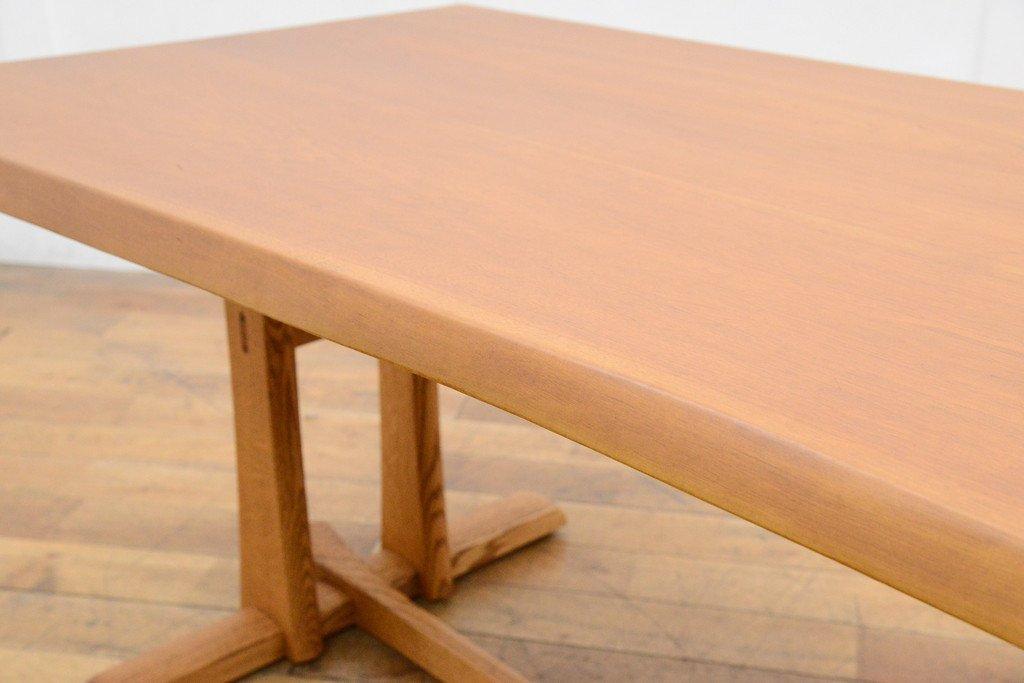 #33639 無垢材 クルミ x オークダイニングテーブル コンディション画像 - 13