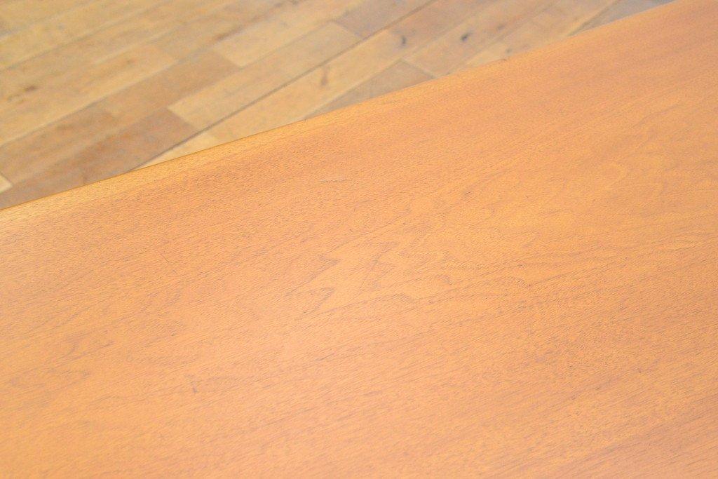 #33639 無垢材 クルミ x オークダイニングテーブル コンディション画像 - 16