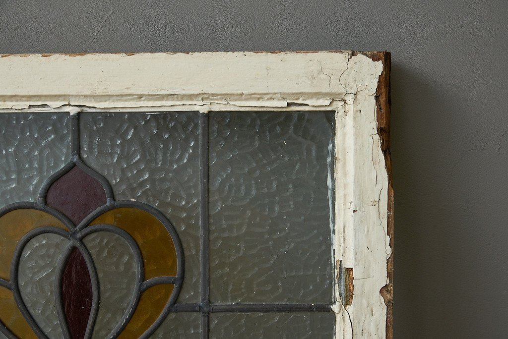 #35445 アールデコスタイル ステンドグラス 4点セット コンディション画像 - 35