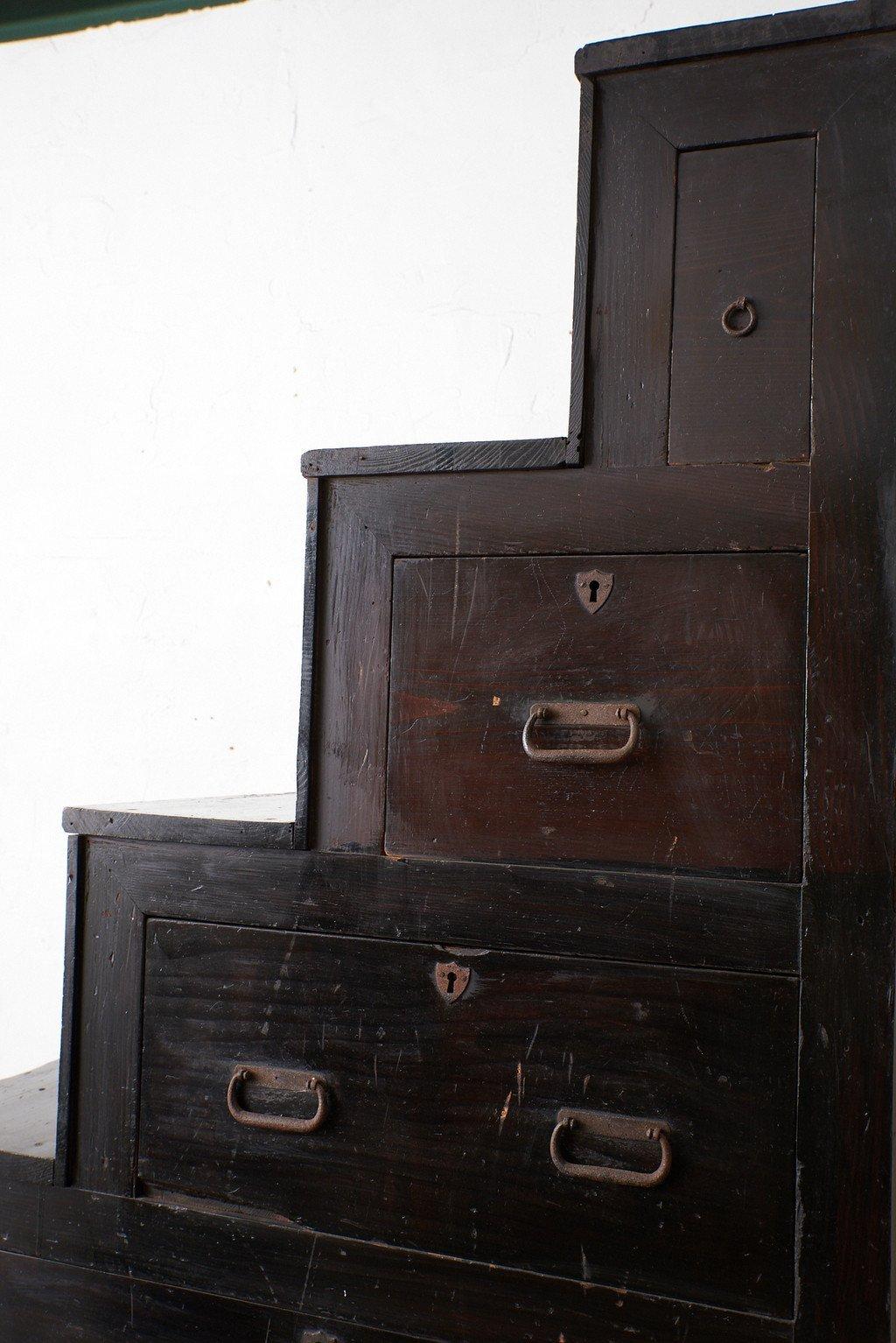 民芸家具 時代 階段箪笥