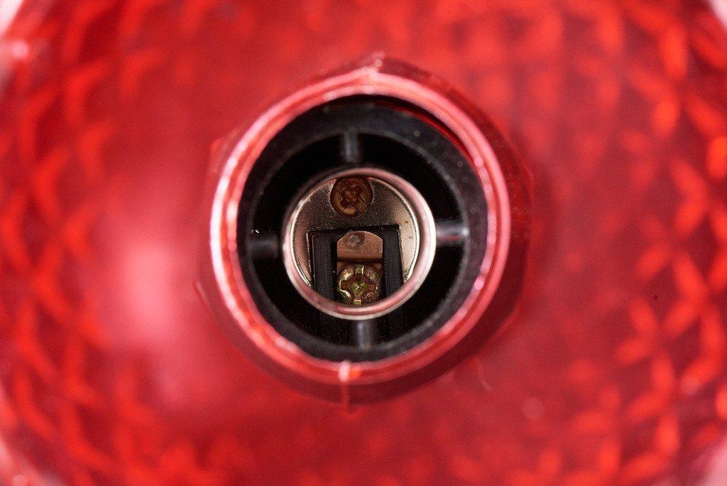 #37258 ヨーロピアンクラシック シャンデリア 6灯 レッド コンディション画像 - 10