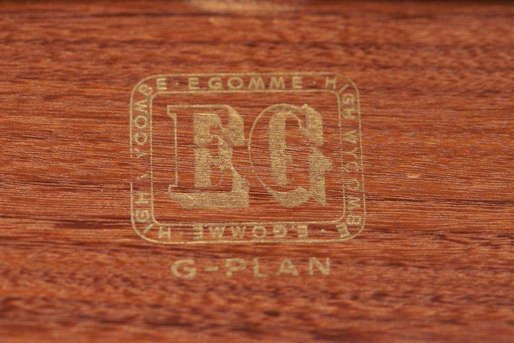 ジープラン G-PLAN Danish ハンドルバックチェア4脚セット