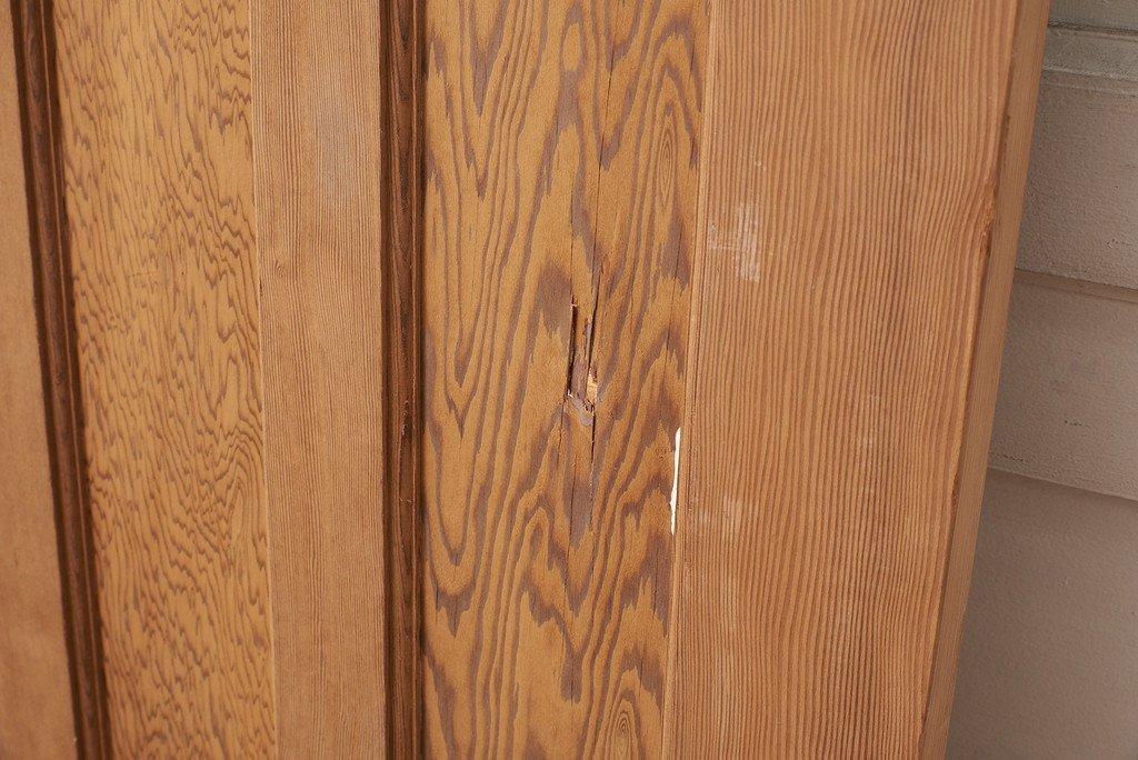 #37499 オールドパイン 英国アンティーク ドア コンディション画像 - 9