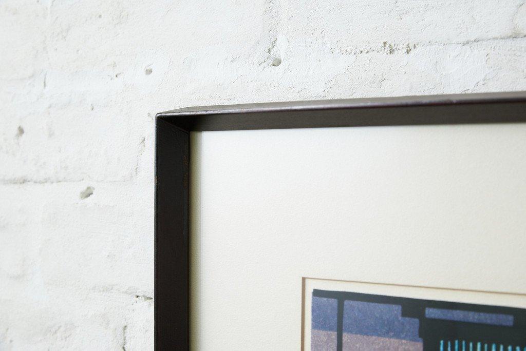 クリフトンカーフ [ RESTAURANT IN GION / 祇園のレストラン ]  木版画
