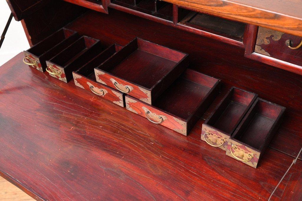 #31825 李朝家具 無垢材 箪笥 コンディション画像 - 24