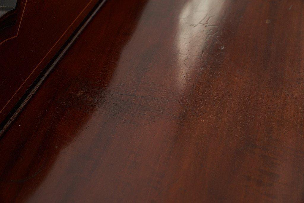 #39191 英国アンティーク 木象嵌 キャビネット コンディション画像 - 16