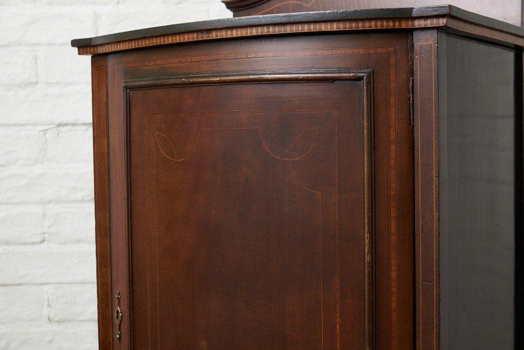 #39191 英国アンティーク 木象嵌 キャビネット コンディション画像 - 17