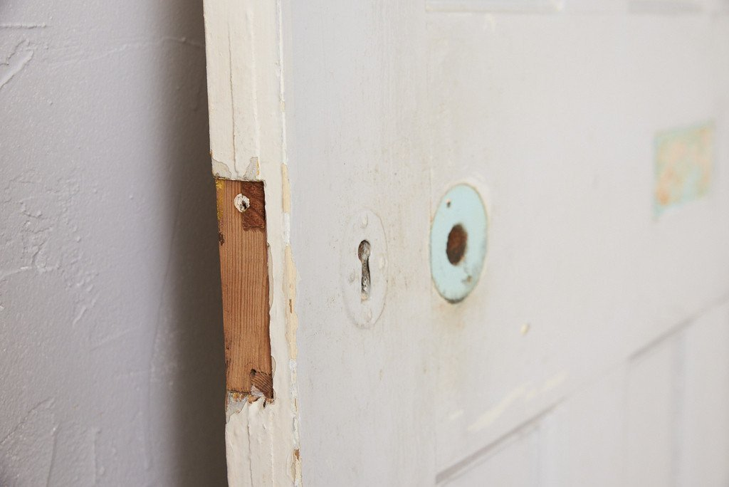 英国アンティーク ペインテッド ドア