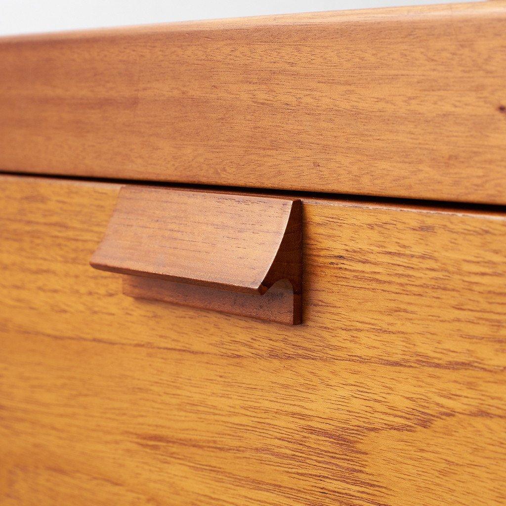 英国ヴィンテージ チーク材 キッチンボード