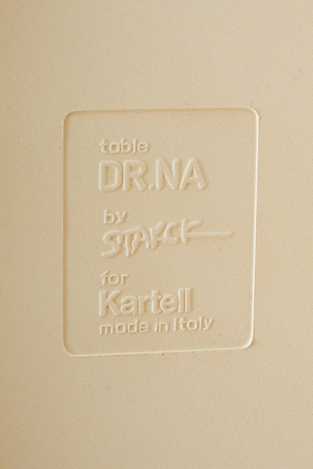 カルテル Kartell DR.NA(ドクターナー)テーブル & DR.NO(ドクターノー)チェア 3点セット