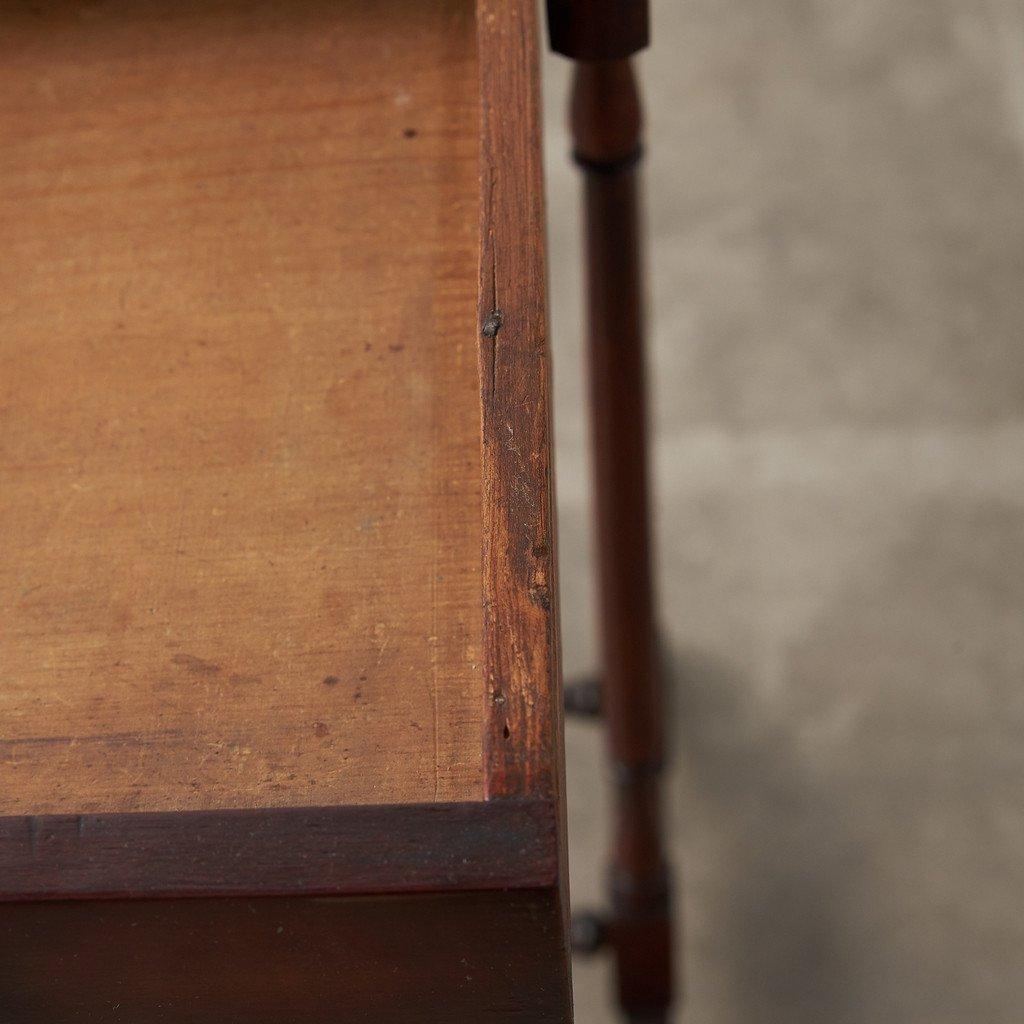 #39378 英国アンティーク ウォールナット材 サイドテーブル コンディション画像 - 11