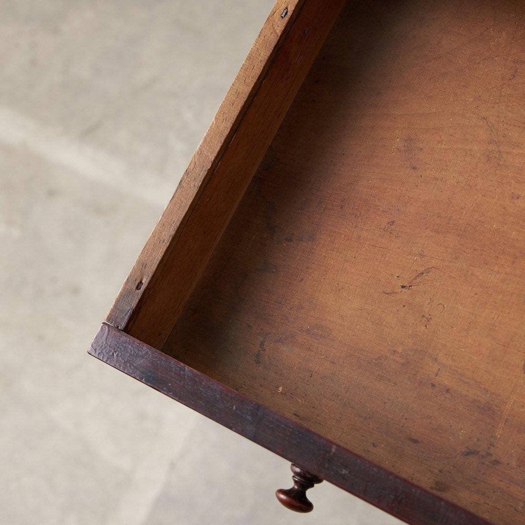 #39378 英国アンティーク ウォールナット材 サイドテーブル コンディション画像 - 12