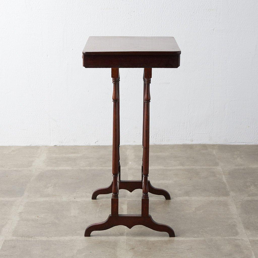 #39378 英国アンティーク ウォールナット材 サイドテーブル コンディション画像 - 18
