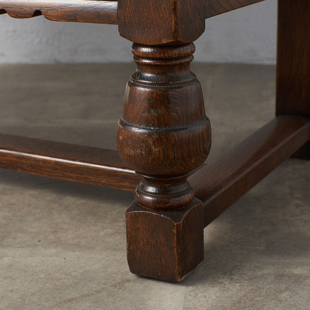 #39290 イギリス 1940年代 オーク 木彫刻 キャビネット コンディション画像 - 12