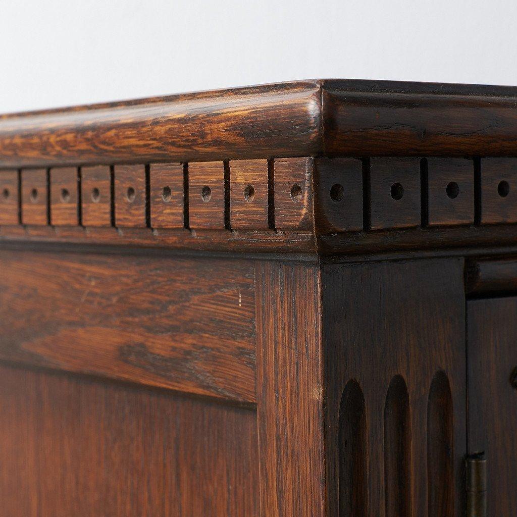 #39290 イギリス 1940年代 オーク 木彫刻 キャビネット コンディション画像 - 35