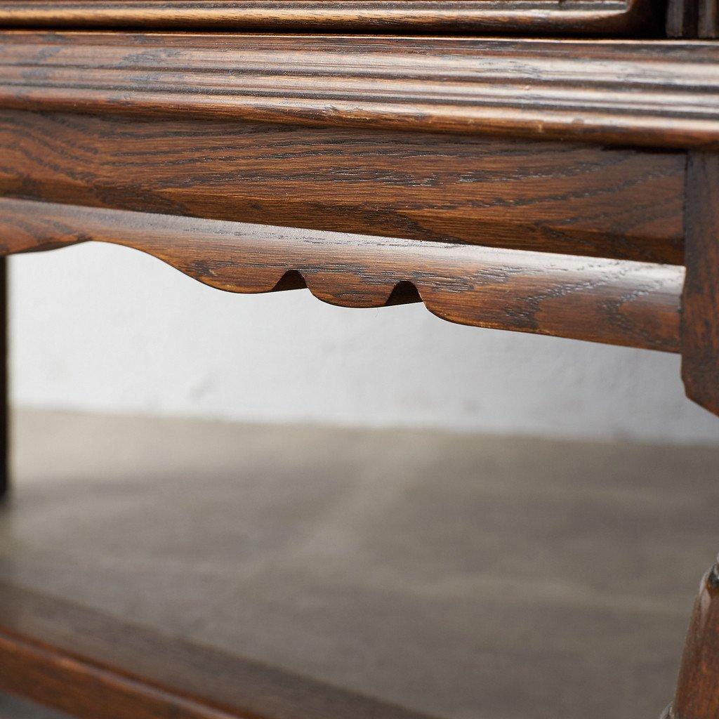 #39290 イギリス 1940年代 オーク 木彫刻 キャビネット コンディション画像 - 36