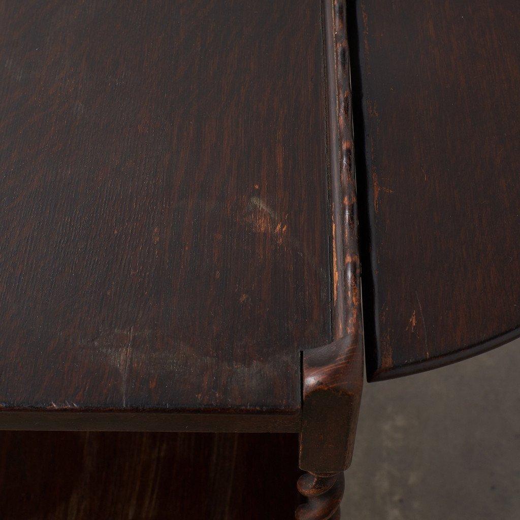 #38443 英国アンティーク ドロップリーフ ティートローリー コンディション画像 - 10