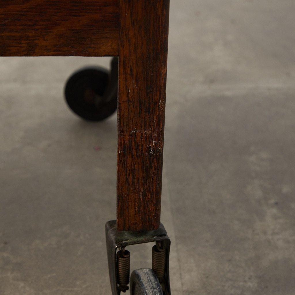 #38443 英国アンティーク ドロップリーフ ティートローリー コンディション画像 - 25