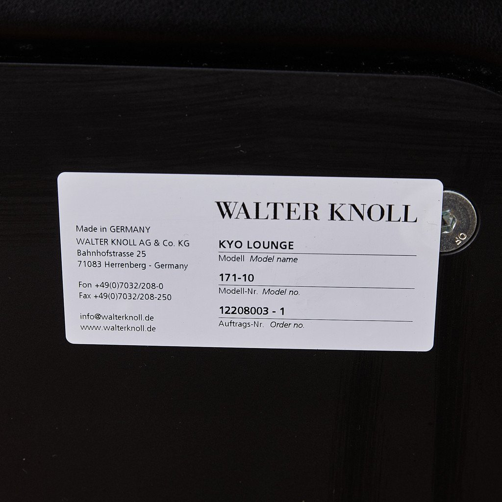 ウォルターノル Walter Knoll KYO ラウンジチェア