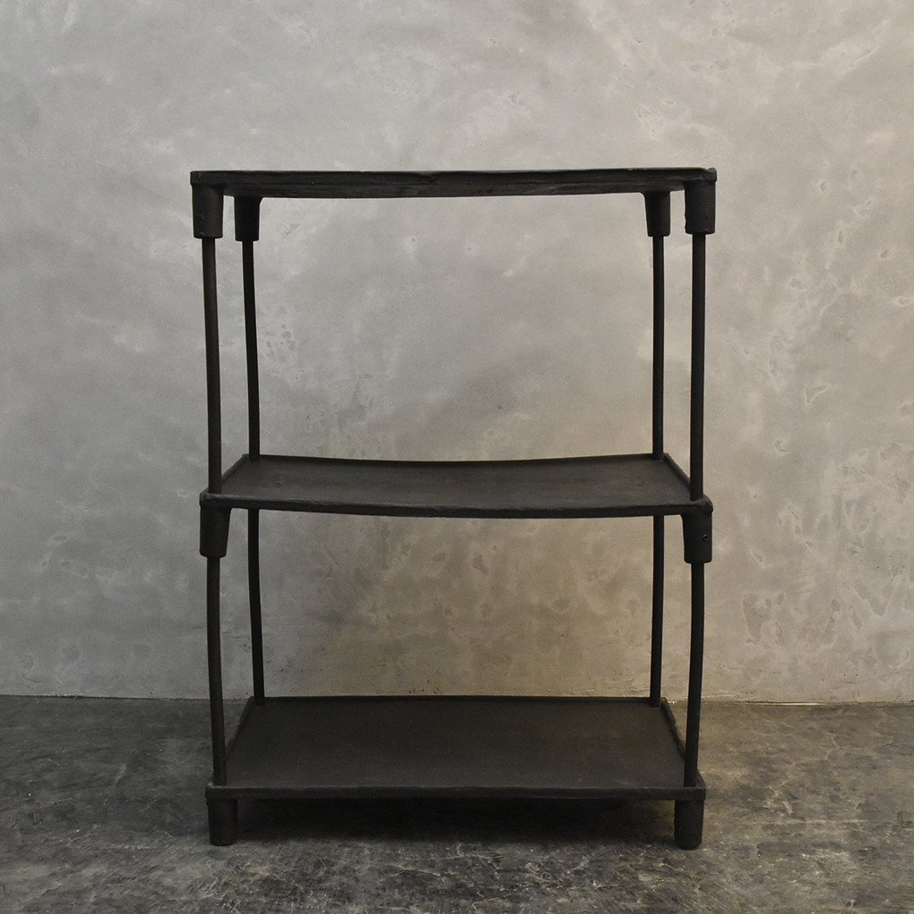 #40137 インダストリアル 鉄製 オープンシェルフ コンディション画像 - 11