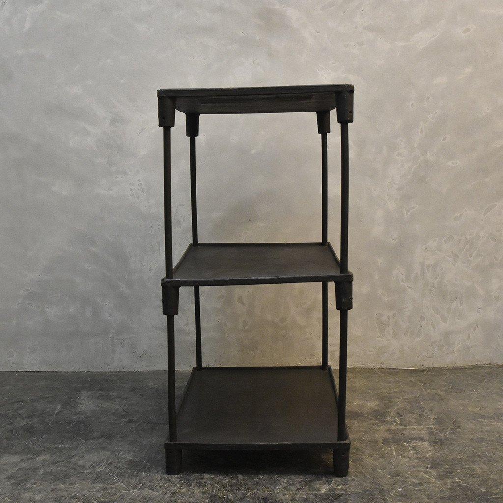 #40137 インダストリアル 鉄製 オープンシェルフ コンディション画像 - 12