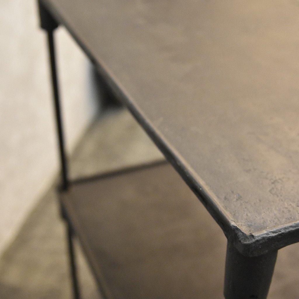 #40137 インダストリアル 鉄製 オープンシェルフ コンディション画像 - 16