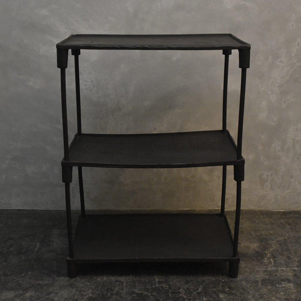 #40137 インダストリアル 鉄製 オープンシェルフ コンディション画像 - 18