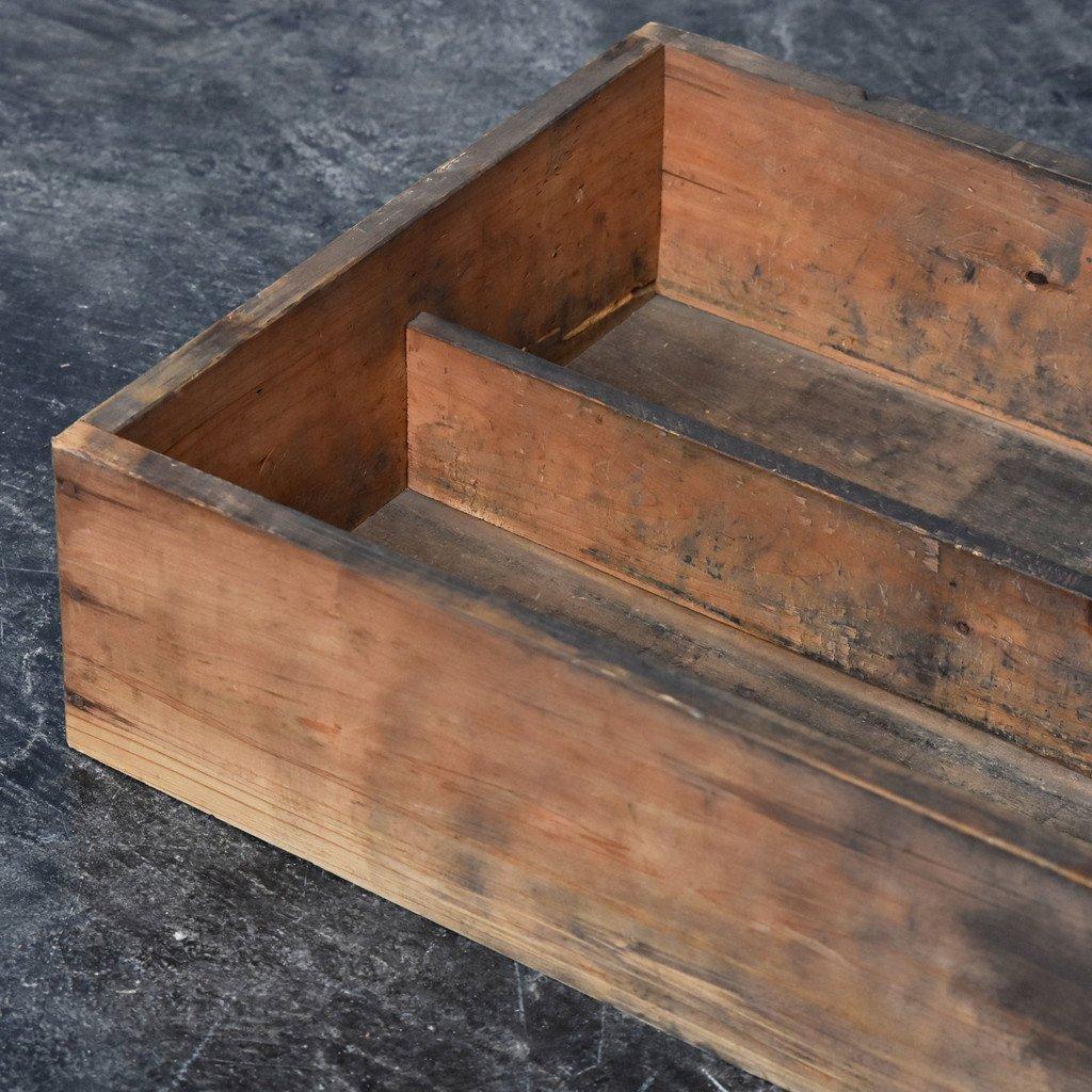 古い木製 引出し トレイ 5点セット