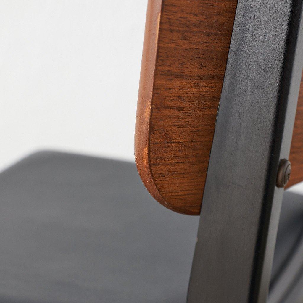 #39791 英国ヴィンテージ ダイニングチェア 4脚セット 座面張替え済み コンディション画像 - 37