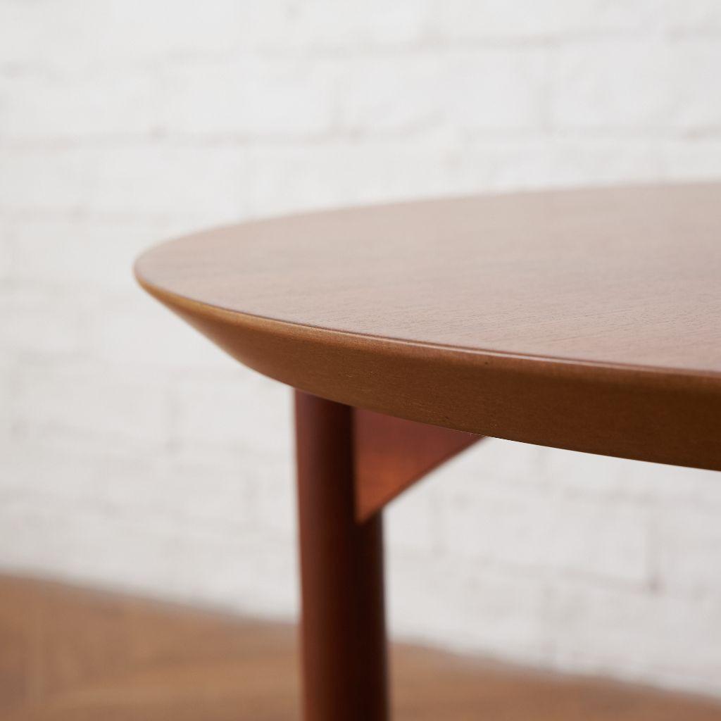 PJ ファニチャー PJ Furniture (P.Jeppesens Mobelfabrik) デンマーク製 ラウンド コーヒーテーブル