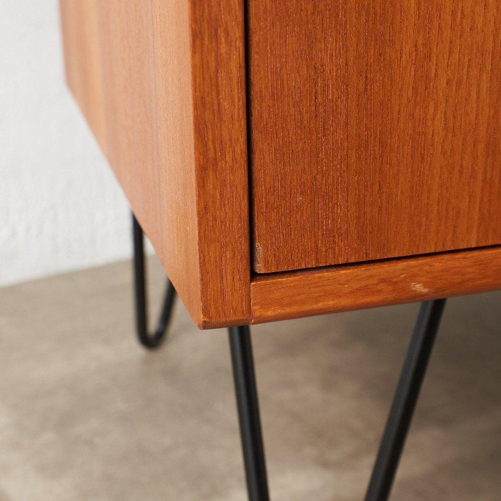 #43265 Fresco カスタム アイアンヘアピンレッグ サイドキャビネット コンディション画像 - 18