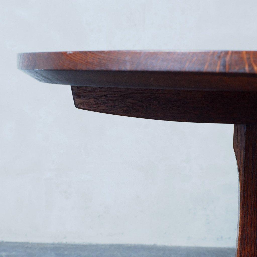 オーク無垢材 ヴィンテージ コーヒーテーブル