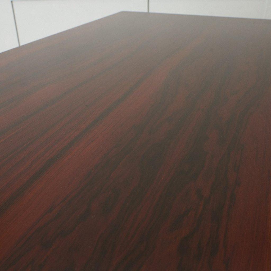 #42783 北欧ヴィンテージ ローズウッド材 ドローリーフテーブル コンディション画像 - 7