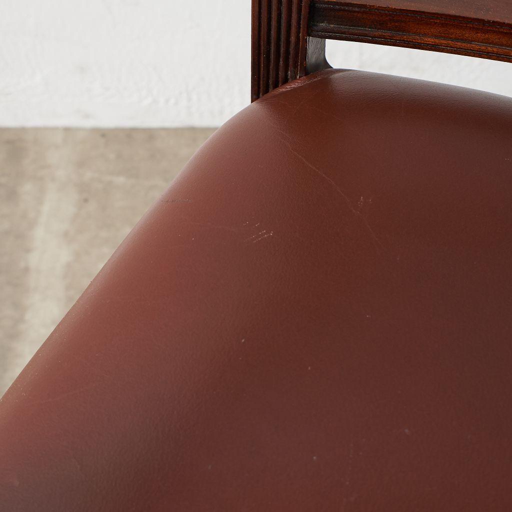 #40930 英国製 リージェンシー様式 アームチェア4脚セット コンディション画像 - 54