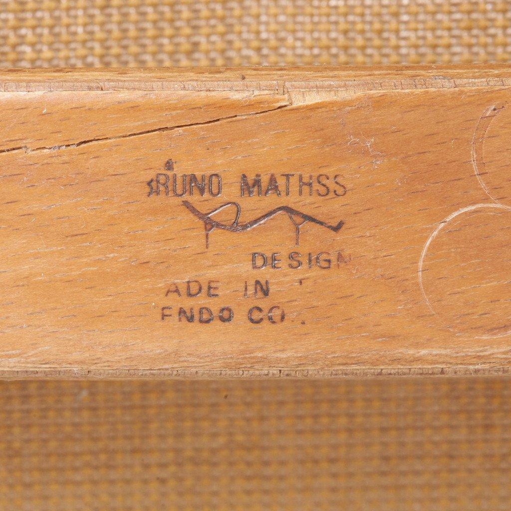 #42855 Bruno Mathsson ハイバックチェア&オットマン コンディション画像 - 26