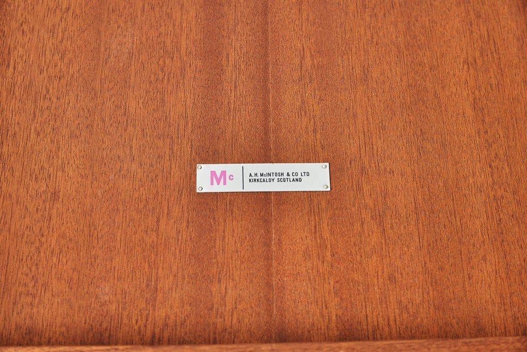 マッキントッシュ A.H.McINTOSH / UK ヴィンテージ ダイニング5点セット