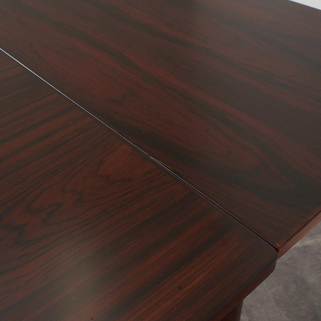 #42783 北欧ヴィンテージ ローズウッド材 ドローリーフテーブル コンディション画像 - 15